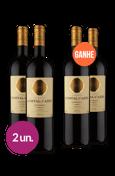 WineBox Compre 2 Leve 4 Domaine De L'Ostal Cazes Estibals A.O.C. Minervois 2014