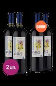 WineBox Compre 2 Leve 4 Wanaco Merlot 2018
