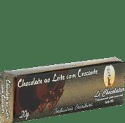 Le Chocolatier Barrinha ao Leite  Crocante