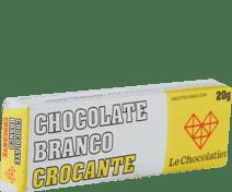 Le Chocolatier Barrinha Branco Crocante