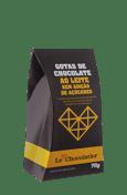 Le Chocolatier Gotas de Chocolate ao Leite S/ Add Açucar 70g