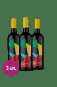 WineBox Mosaiko - 3 garrafas