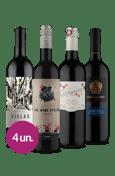 Kit Mochilão Europa (4 garrafas)