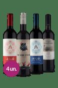 Kit Seleção Tintos Portugueses & Espanhóis (4 garrafas)