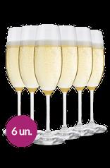 WineBox Taça De Cristal Para Espumante Schott Zwiesel Ivento 228 Ml