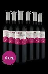 Winebox 5 Elementos Roble