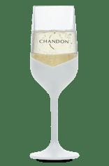 Taça Chandon de Acrilico Branca 250 ml