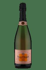 Champagne Veuve Clicquot Rosé Brut com Cake