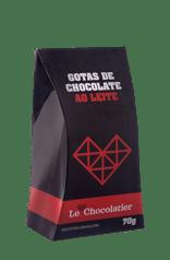 Le Chocolatier Gotas de Chocolate ao Leite 70g