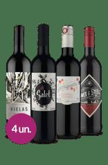 Kit Tintos Mundiais Especiais (4 garrafas)