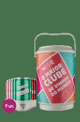 Kit Its Wine Oclock Lata + Cooler