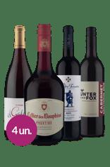 Kit Tintos Europa & Austrália (4 garrafas)