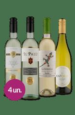 Kit Uvas Brancas Européias (4 garrafas)