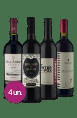 Kit Tintos Mundiais Espetaculares (4 garrafas)