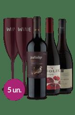 WineBox Festival de Uvas com Taça