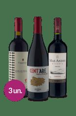 Kit Tintos Itália & Chile (3 garrafas)