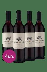 Kit Bear Flag Red Blend 2018 (4 garrafas)