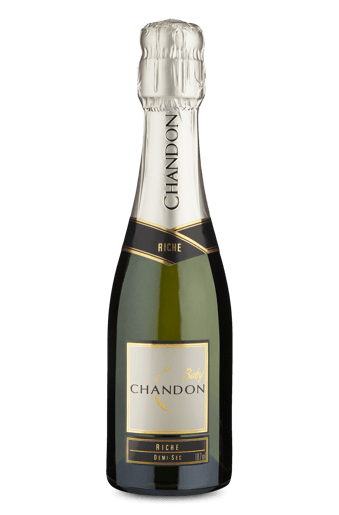 Espumante Chandon Riche Demi-Sec Baby 187 Ml