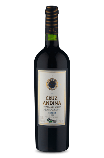Cruz Andina Estate Collection Merlot Organico 2018