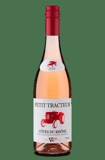 Petit Tracteur A.O.C. Côtes du Rhône Rosé 2019
