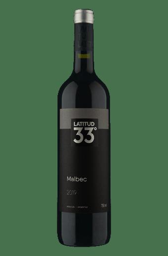 Latitud 33° Malbec 2019