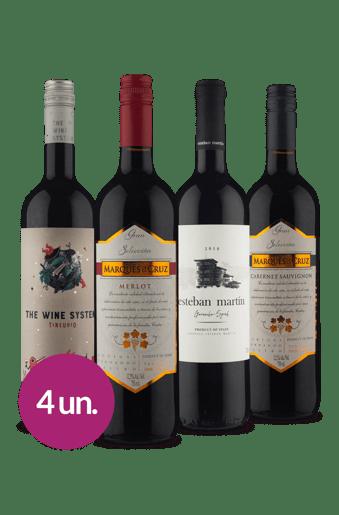 Winebox Esperança por um ano melhor!: Que Sorte a sua 50%off em vinhos da Europa