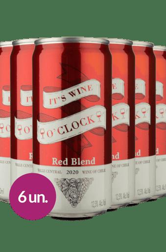 Kit Its Wine Oclock Red Blend (6 latas)