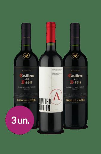 Winebox Economia para atrair Riqueza: Renomados do Chile