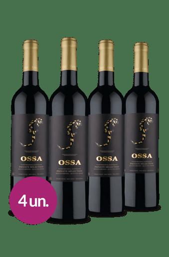 Kit Ossa Private Selection Regional Alentejano 2019 (4 garrafas)
