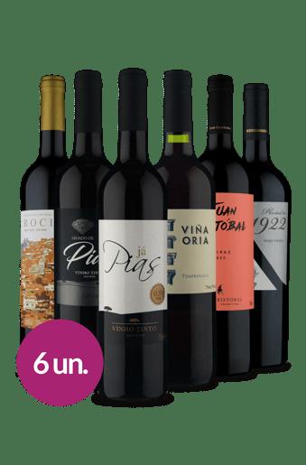 Kit Tintos Maratona de Filmes (6 garrafas)