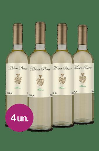 Kit Branco Mosen Pierre (4 garrafas)