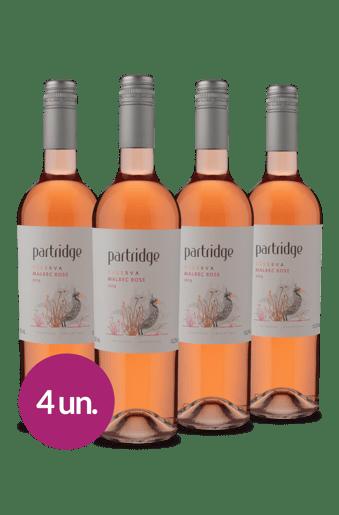 Kit Malbec Rosé Argentino (4 garrafas)