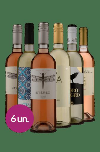 Kit Brancos & Rosés  (6 garrafas)