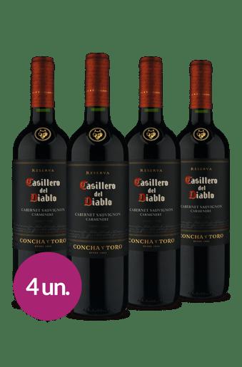 Kit Casillero del Diablo Cabernet Sauvignon/Carmenere 2018