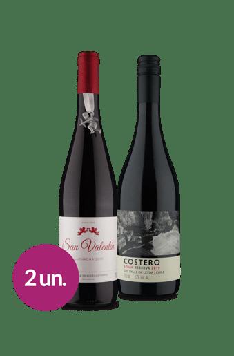 Kit Tintos Espanha & Chile (2 garrafas)