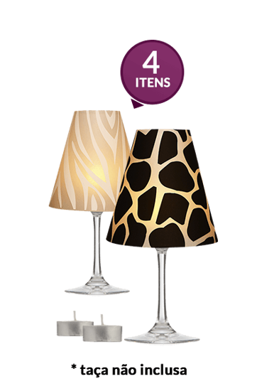 Taçajur Zebra E Girafa