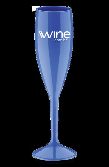 Taça Wine Azul