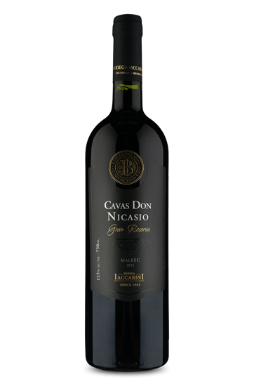 Cavas Don Nicasio Gran Reserva Malbec 2015
