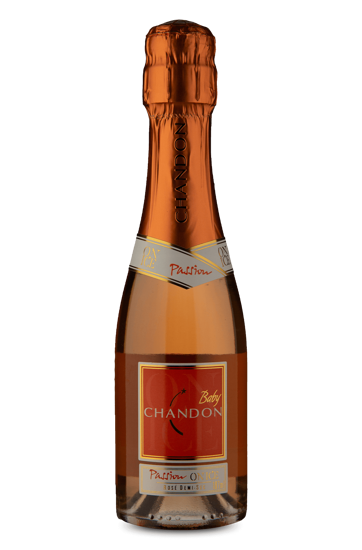Espumante Baby Chandon Passion Rosé Demi-Sec 187 ml
