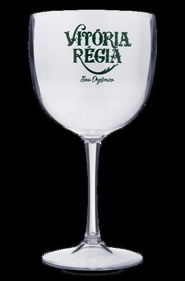 Taça de Acrílico Vitória Régia