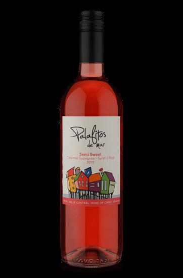 Palafitos de Mar Semi Sweet Rosé Cabernet Sauvignon/Syrah 2019