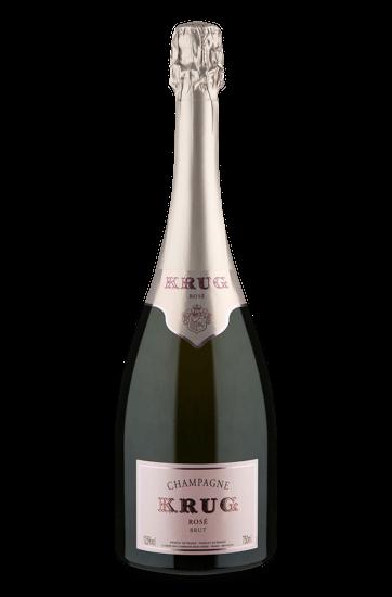 Champagne Krug Rosé Extra Brut.