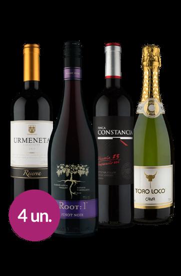WineBox Quarteto Sabores