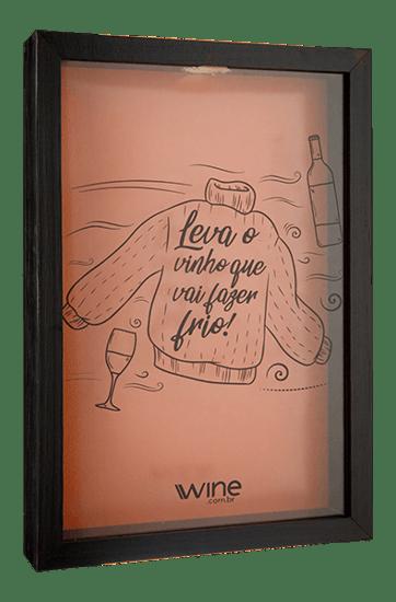 Quadro Porta Rolhas Wine