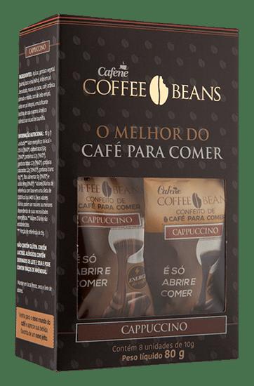 Coffee Beans Cappuccino Cx Com 08 Un - 80g