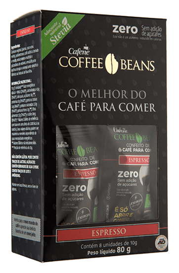 Coffee Beans Expresso Zero Cx Com 08 Un - 80g