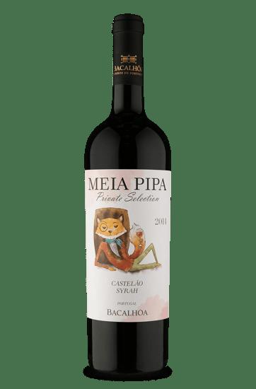 Bacalhôa Meia Pipa Private Selection Castelão Syrah 2014