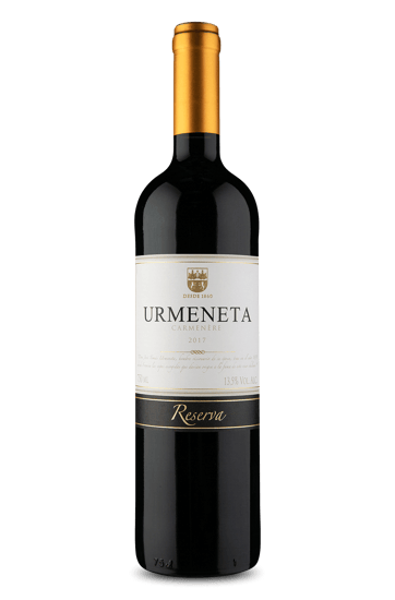 Urmeneta Reserva Carménère 2017