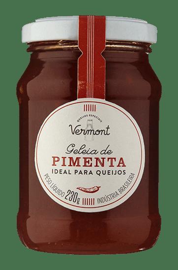 Geleia De Pimenta Ideal Para Queijos Vermont 230 g