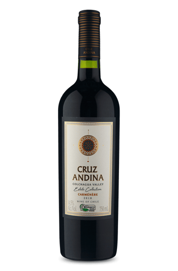 Cruz Andina Estate Collection Carmenere Organico 2018